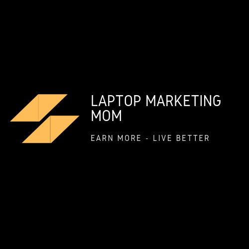 Laptop Marketing Mom
